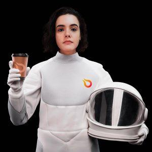 Astronauta Milena