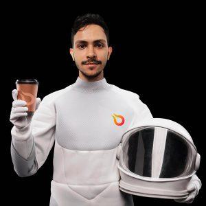 Astronauta Rodrigo Mello