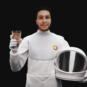 Astronauta Gustavo